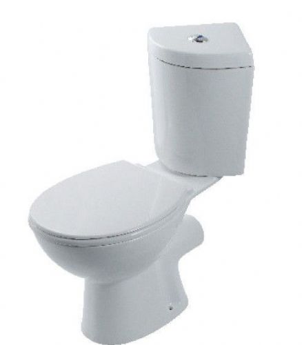 Eastbrook Loire Corner Toilet, Pan, Cistern & Soft Close Seat